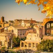 Ruins of Forum in Rome — Stock Photo #53840509