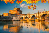 SantAngelo fortress, Rome — Stock Photo