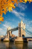 Tower bridge v londýně — Stock fotografie