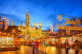Christmas market in Vienna — Foto Stock