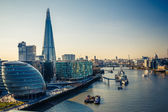 Thames and London City — Stockfoto
