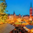 Christmas market in Frankfurt — Stock Photo #55938969