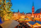 Christmas market in Frankfurt — Foto de Stock