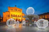 Alte oper de frankfurt — Foto Stock