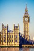 Torre do big ben em londres — Foto Stock