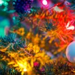 Decorated x-mas tree — Stock Photo #57233457