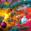 Decorated x-mas tree — Stock Photo #57233463