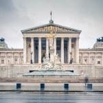 Austrian Parliament in Vienna — Stock Photo #57233591