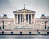 Austrian Parliament in Vienna — Stock Photo