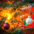 Decorated Christmas tree — Stock Photo #57719045