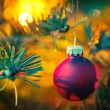 Decorated Christmas tree — Stock Photo #57721853