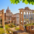 Roman ruins in Rome, Forum — Stock Photo #67665175