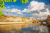 Arno river in Florence — ストック写真