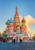 St. Basils Cathedral in Moscow — Stock Photo