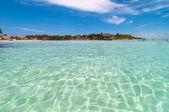 Tropical sea in Isla Mujeres, Mexico — Stock Photo