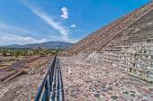 Teotihuacan, Aztec ruins, Mexico — Stock Photo