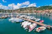 Harbour and town of Lerici in summer — Stock Photo