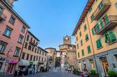 Street view in Castelnovo Garfagnana, Italy — Zdjęcie stockowe