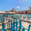 Marzamemi small fishing village in southeastern Sicily - Italy — Foto de Stock   #60834453