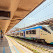 Platform and train at Palermo railway station, Italy — Stock Photo #61793713