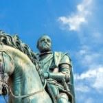 Statue of Cosimo de Medici in Florence, Italy — Stock Photo #66418679
