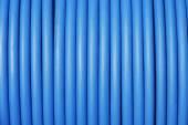 Blå kabel青色のケーブル — ストック写真