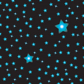 Simple black sky with stars pattern — Stock Photo