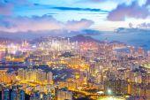 Hong Kong Skyline Kowloon — Stock Photo