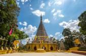 Tajlandia pagoda ze stali nierdzewnej — Zdjęcie stockowe