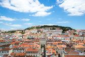 Panoráma města lisabon — Stock fotografie