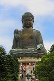 Tian Tan Giant Buddha at Po Lin Monastery Hong Kong — Stock Photo