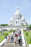 Sacre Coeur Cathedral Montmartre — Stock Photo