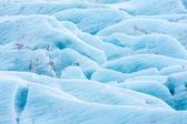 Svinafell Glacier in Iceland — Foto Stock
