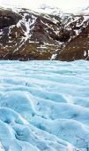 Svinafell Glacier in Iceland — Stock Photo