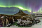 Northern Light (Aurora borealis) — Stock Photo