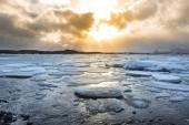 Lodowiec Vatnajökull w Islandii — Zdjęcie stockowe