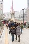 Osaka Station in Japan — Stock Photo