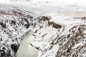 Winter landscape in Iceland — Stock Photo