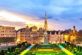 Stadtbild von Brüssel in Belgien — Stockfoto