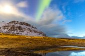 Northern Light in Iceland — Stock Photo