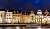 Ghent Old town in Belgium — Stock Photo