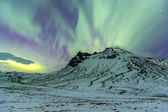 The Northern Light in Iceland — Stock Photo