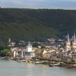 Boppard and river Rhine in Germany — Stock Photo #82307306