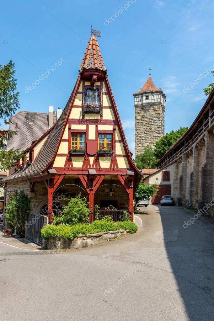 Rothenburg ob der tauber en alemania foto de stock - Rothenburg ob der tauber alemania ...