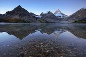 山反射 — ストック写真