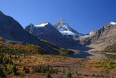 青い空と山 — ストック写真