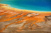 Grand Prismatic Springs — Zdjęcie stockowe