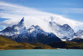 Patagonia mountain in chile — Stock Photo