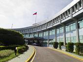 Civil Aeronautics Administration in Taipei Songshan Airport,MOTC — Stockfoto