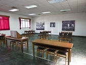 Interior of law court in Jing-Mei Human Rights Memorial and Cult — Stock Photo